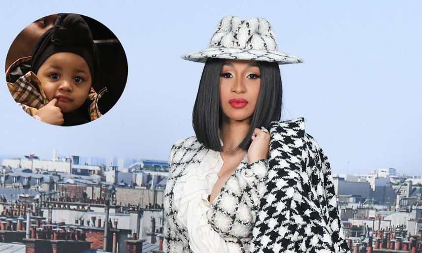 Cardi B Flaunts 6 Pack Abs In Instagram Video Watch Clip: Cardi B's Daughter Kulture's Gucci Fanny Pack Is On Our