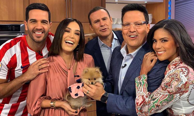 Raul Gonzalez Univision Y Su Novia
