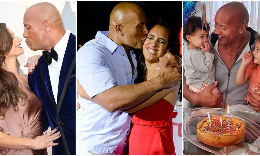 Dwayne Johnson S Cutest Family Moments Will Melt Your Heart