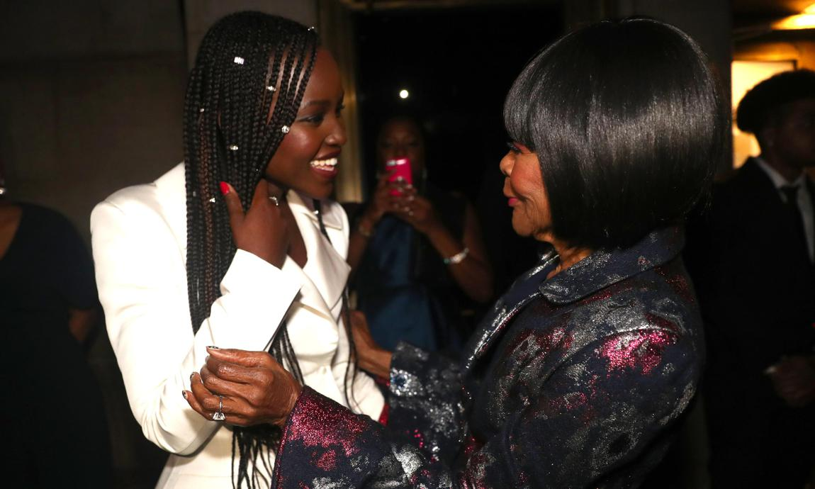 Lupita Nyong'o and Cicely Tyson