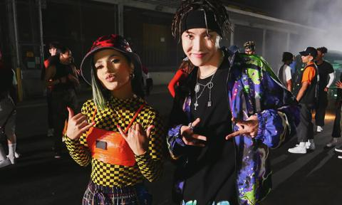 Becky G and J-Hope Chicken Noodle Soup song