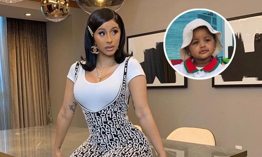 Cardi B S Daughter Kulture Scolds Mom For Stealing Her Pacifier In