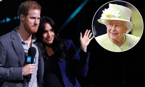 Queen Elizabeth is making private visits to help Meghan, Harry