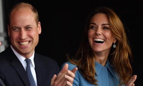Kate Middleton, Prince William attend ship naming ceremony
