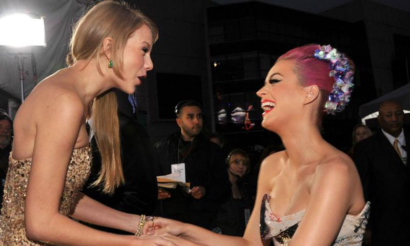 Taylor Swift and Katy Perry feud