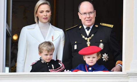 Princess Charlene opens up about life with twins Jacques and Gabriella in rare interview