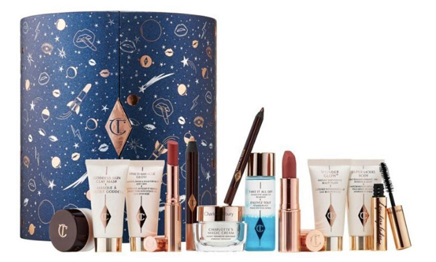 Charlotte Tilbury Glittery Galaxy Of Makeup Magic moon advent