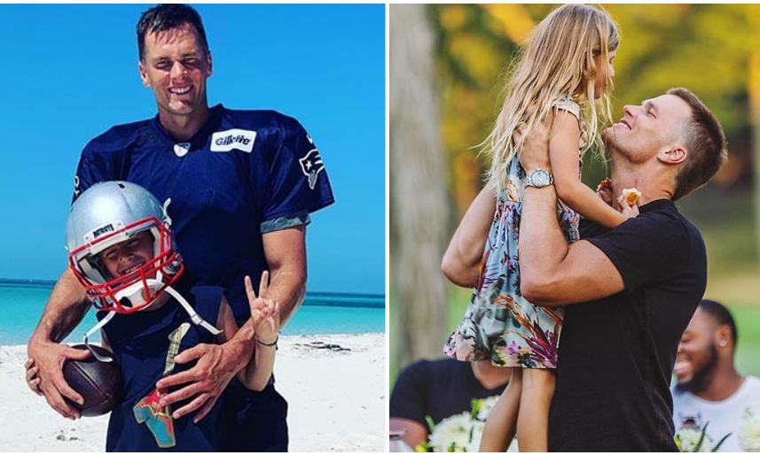 Tom Brady Is A Happy Dad Proud Of His Kids That Are So Grown And Handsome Photo 1