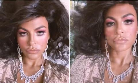 Eva Mendes makeup - Dynasty