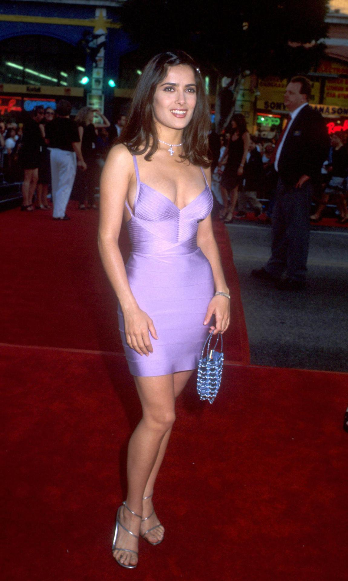 Salma Hayek was a true fashion star in the '90s – see her style ...