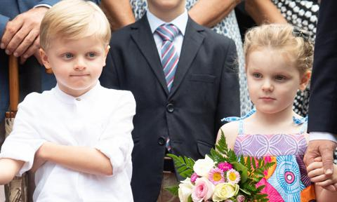 Prince Jacques and Princess Gabriella turn 5 and record birthday video