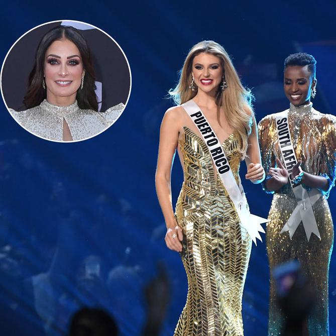 Dayanara Torres roots for Miss Puerto Rico 2019