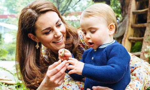 Kate Middleton reveals Prince Louis loves to smell flowers