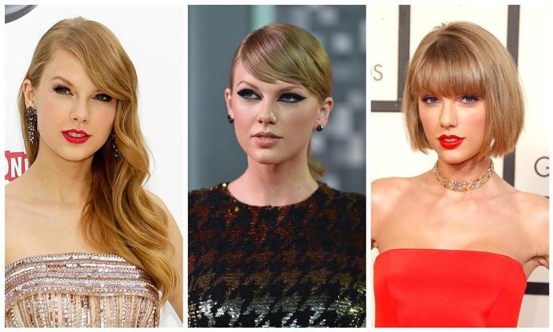 Taylor Swift y sus mejores beauty looks