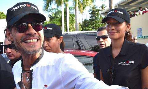 Marc Anthony and girlfriend Jessica Lynne's public outing in Puerto Rico