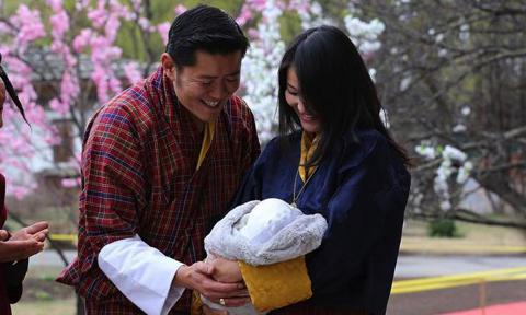 King and Queen of Bhutan expecting second child together