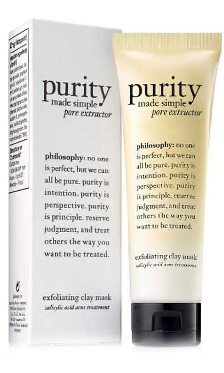 Travel Size Purity Made Simple Pore Extractor Exfoliating Clay Mask