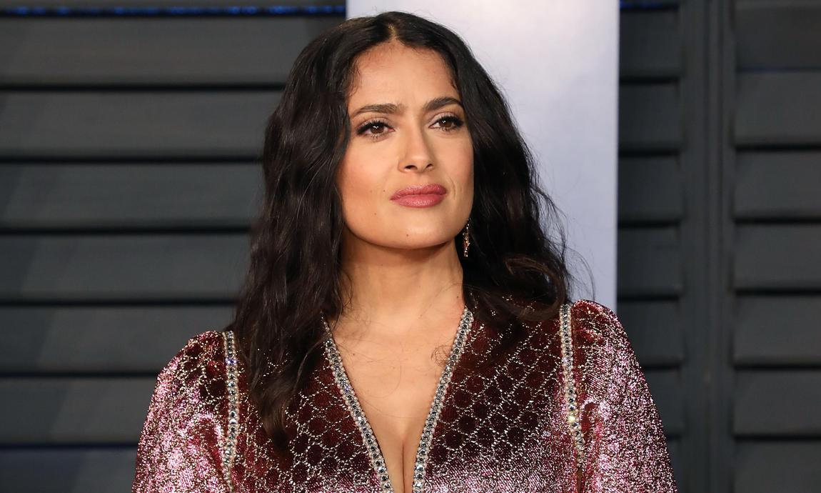 Salma Hayek's sexiest moments of 2019