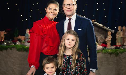 Swedish royal family releases annual Christmas video