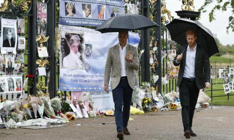 How William And Harry Honor Princess Diana On Death Anniversary
