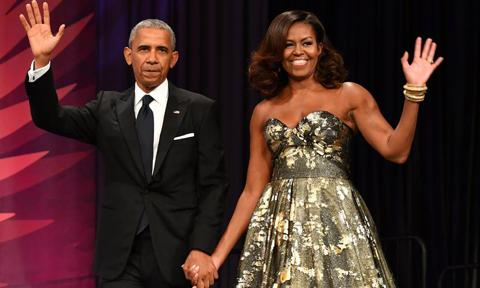 Barack, Michelle Obama dined with Prince Albert in Monaco