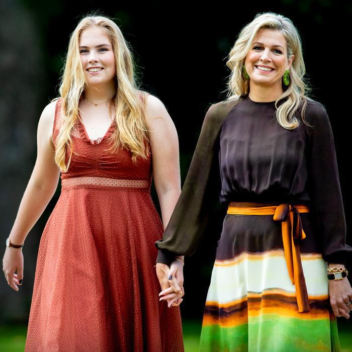 Queen Maxima and her daughter Princess Catharina-Amalia