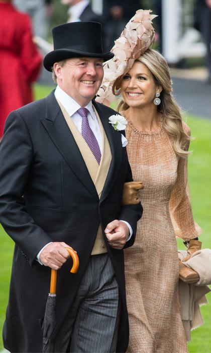 Queen Maxima at the 2019 Royal Ascot