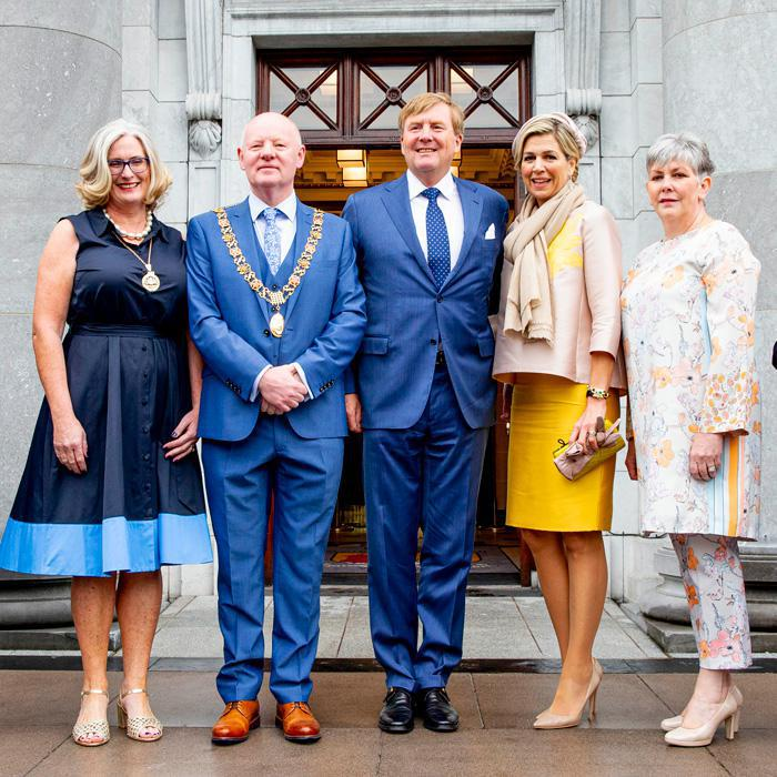 Queen Maxima on state visit to Ireland