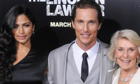 Camila Alves posted a hilarious photo of Matthew McConaughey's 'one of a kind' mom