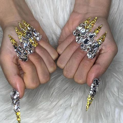 rosalía's over the top nail art from 2019  photo 7