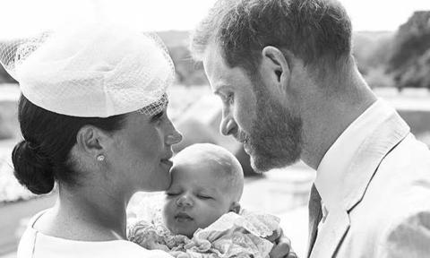 Meghan Markle and Prince Harry sent out an e-card for Archie's first Christm