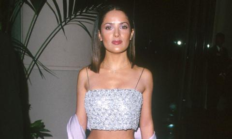 Salma Hayek shares throwback video