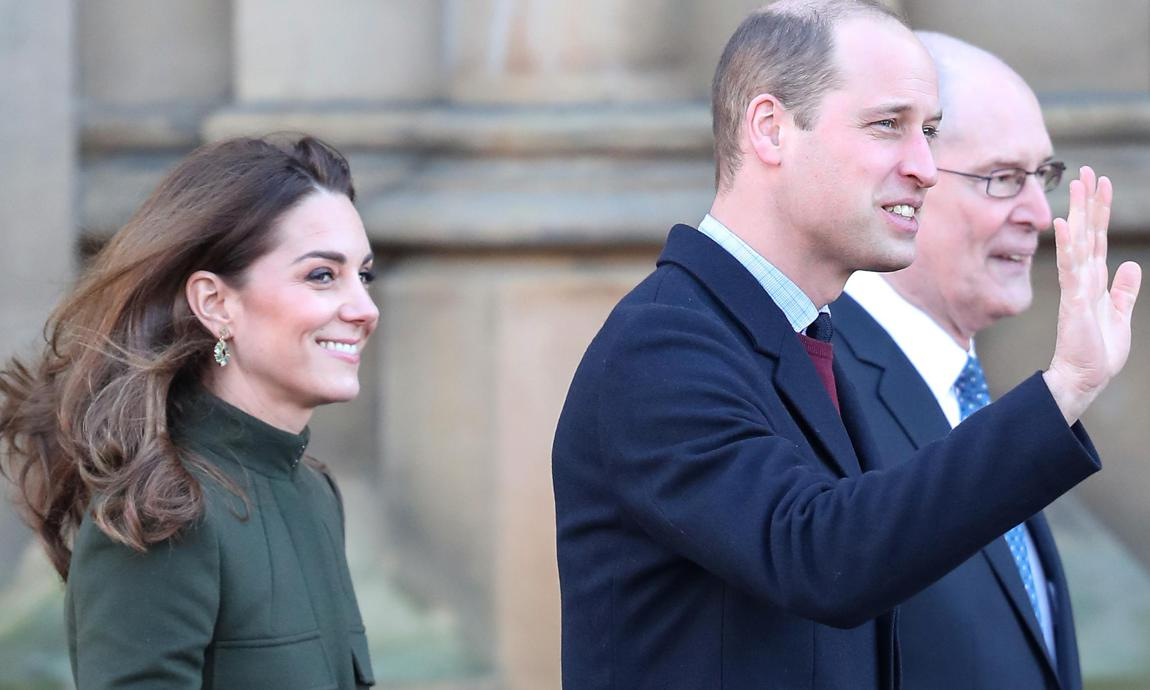 Kate Middleton and Prince William greet royal watchers in Bradford