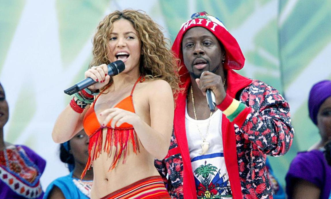 Shakira and Wyclef-Jean