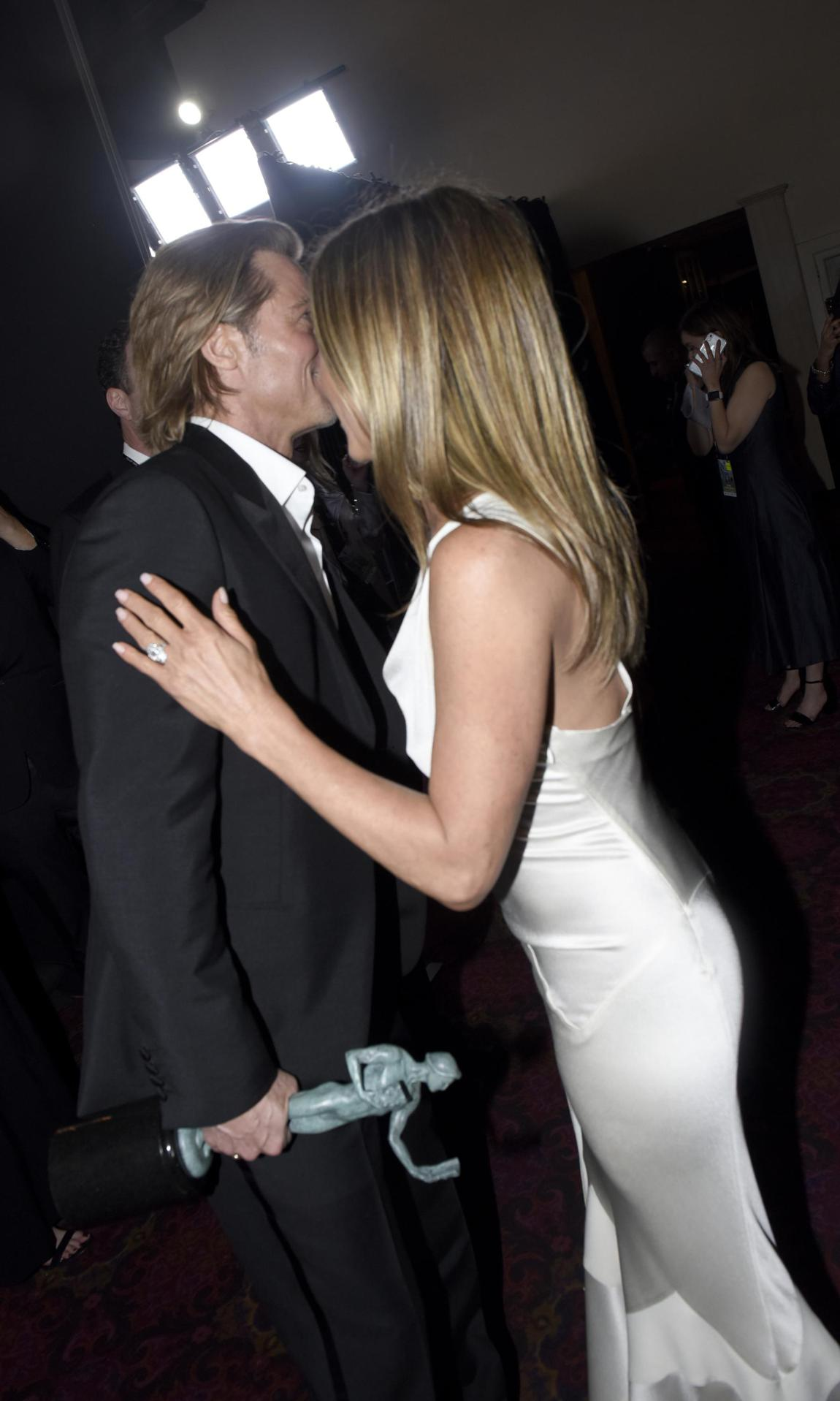 jennifer aniston y brad pitt SAG Awards 2020
