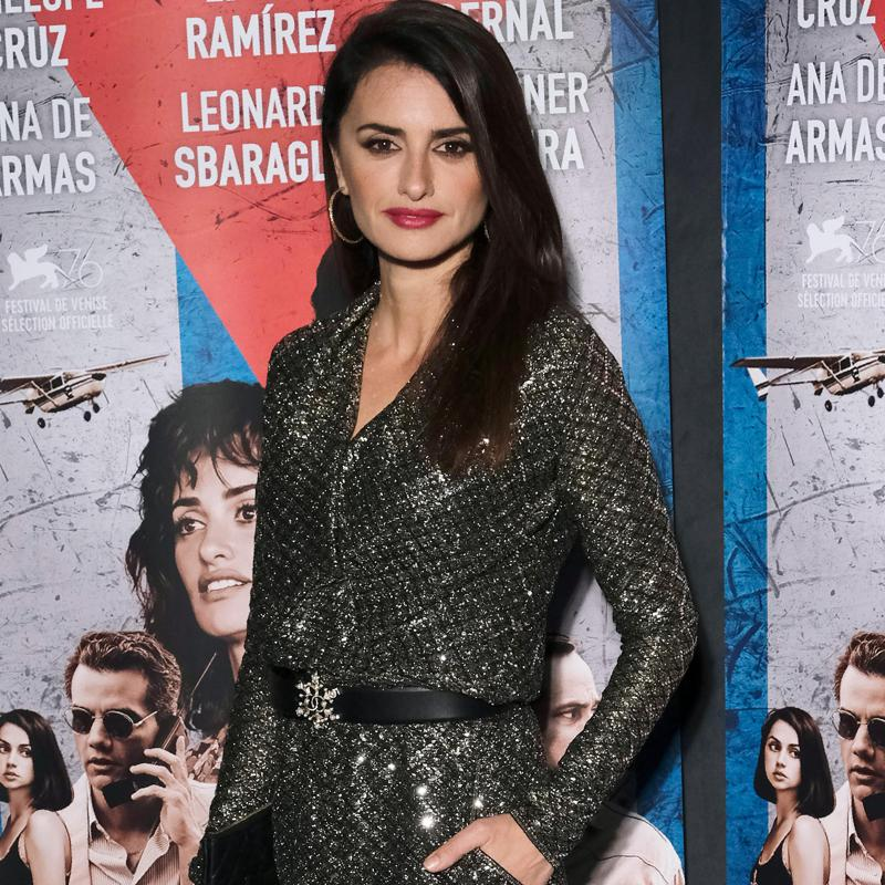 Penelope Cruz in Chanel jumpsuit at the Cuban Network premiere in Paris