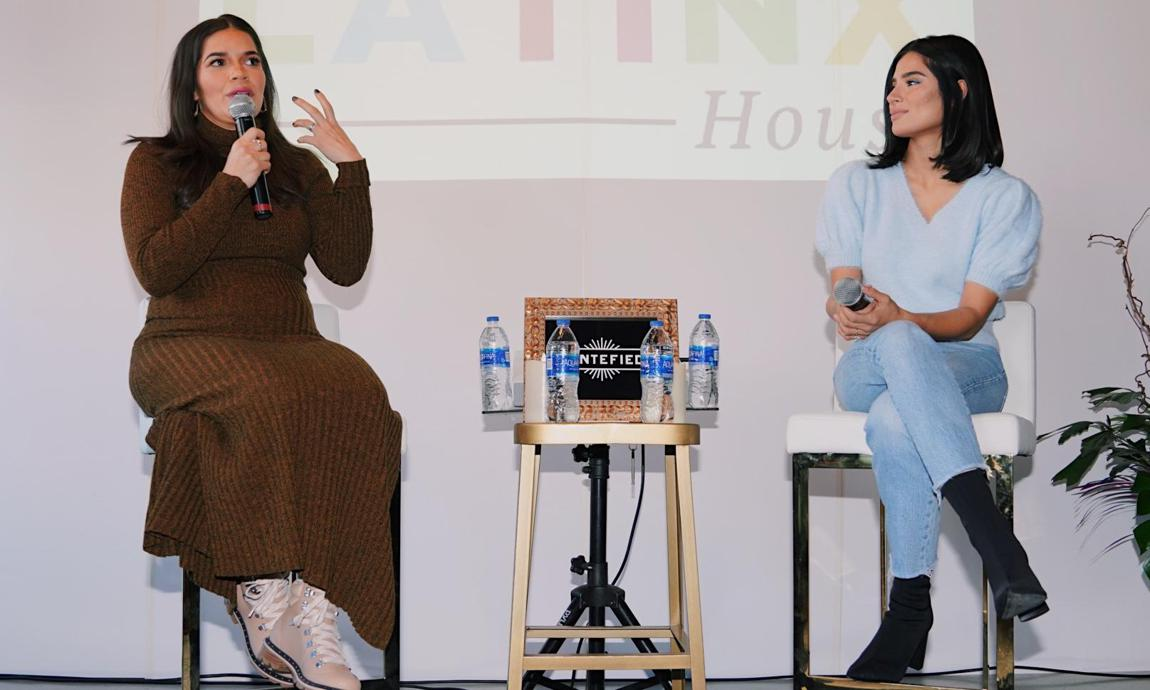 America Ferrera and Diane Guerrero at Latinx House 2020