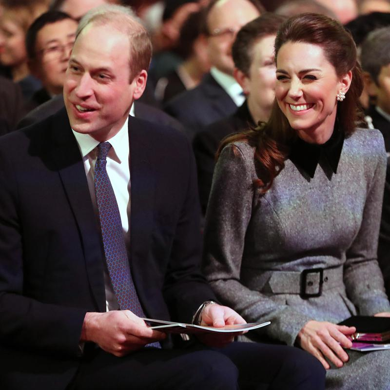Kate Middleton and Prince William honor Holocaust survivors