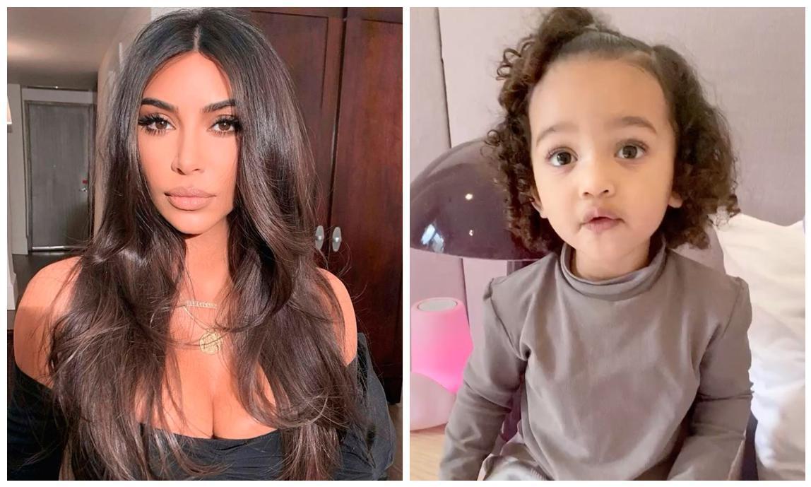 Kim Kardashian S Daughter Shows Off Her Singing Skills