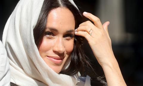 Meghan Markle engagement ring absence