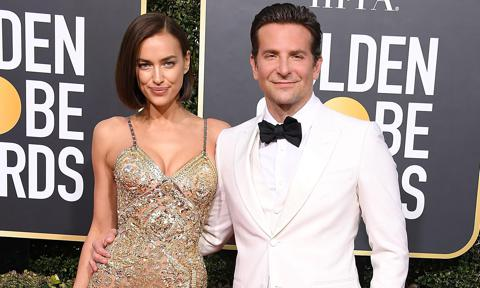 Exes Bradley Cooper and Irina Shayk reunite in London