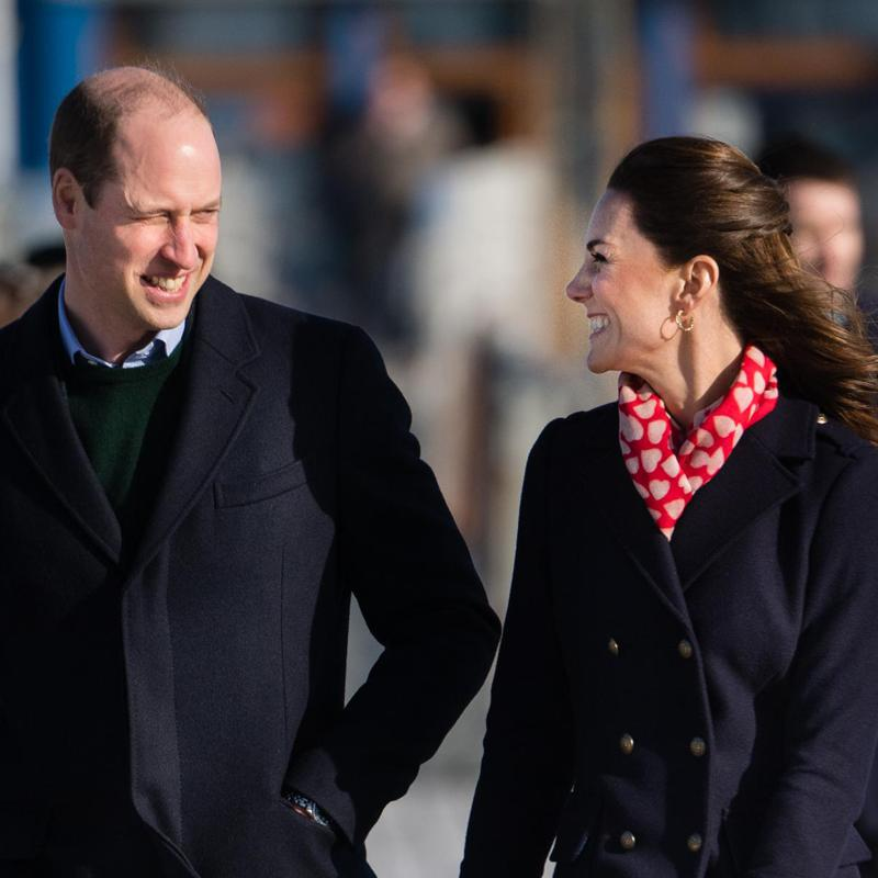 Kate Middleton looks Valentine's Day ready in Wales