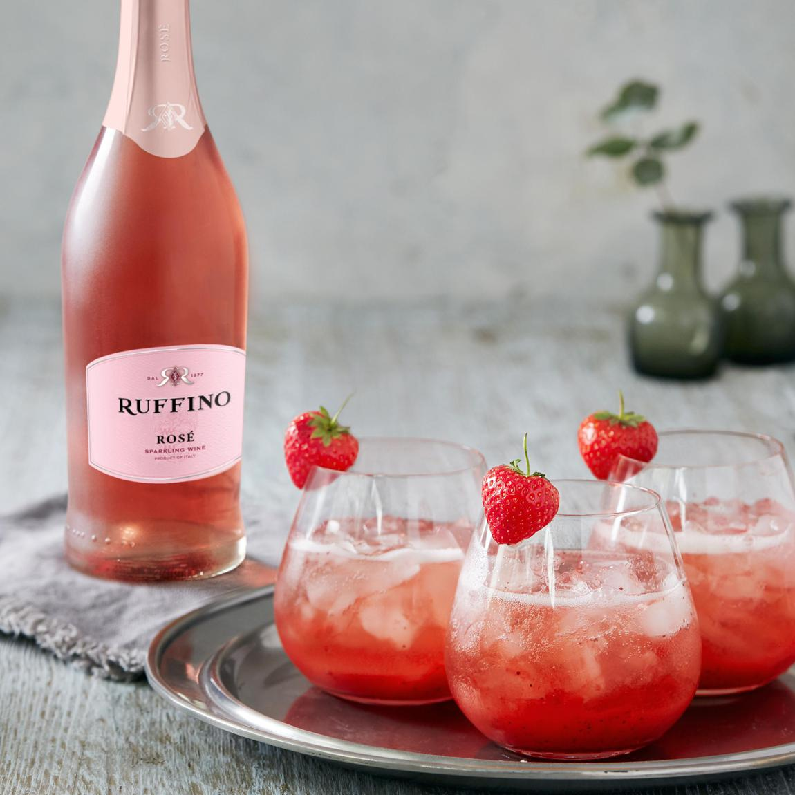 Ruffino Always Sparkling cocktail