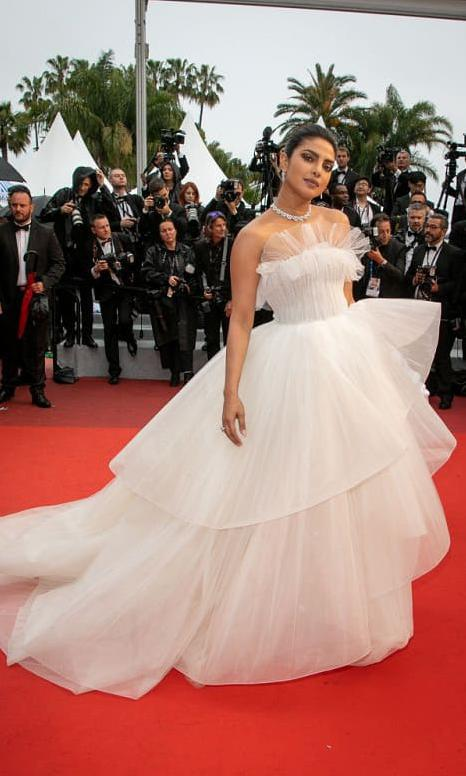 The fashionista stuns at the Cannes Film Festival