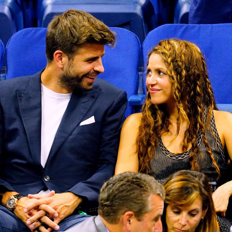 Shakira, Gerard Pique pack on PDA at soccer game with sons