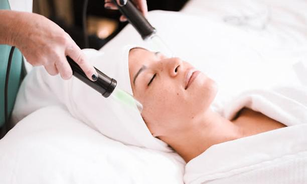 Electro-sound lymphatic drainage therapy