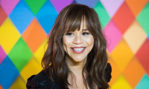 Rosie Perez attends Harley Quinn: Birds of Prey premiere in London