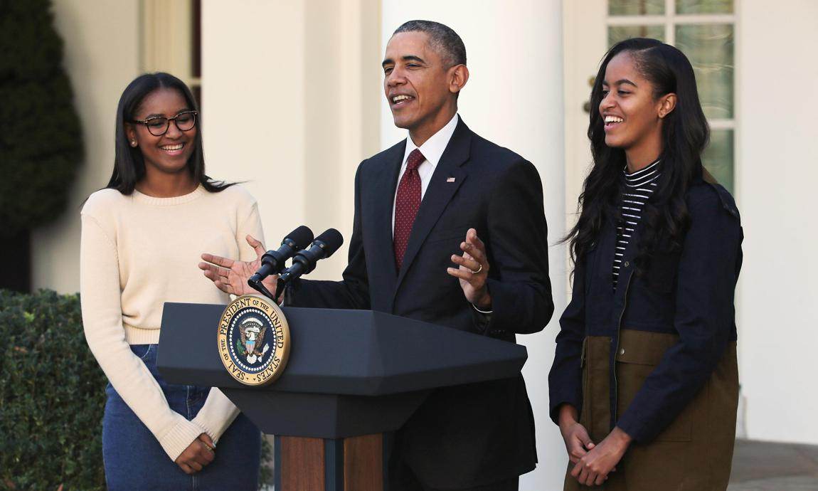 Michelle Obama, Sasha Obama, Malia Obama college advice