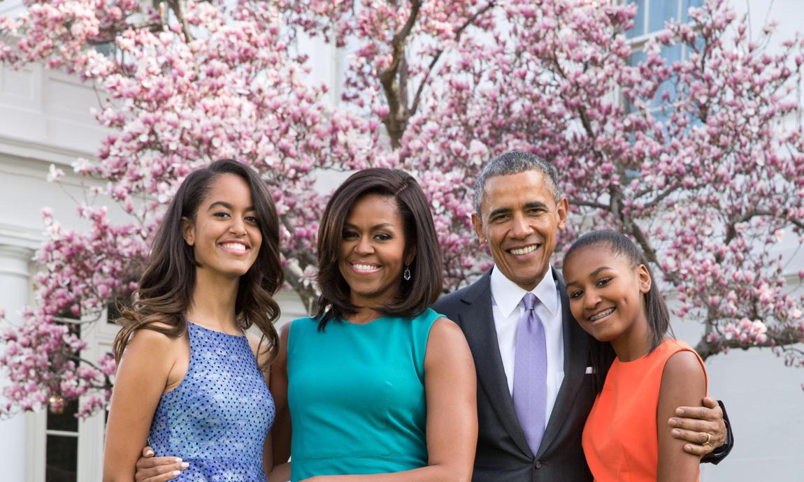 Barack Obama, Michelle Obama daughters