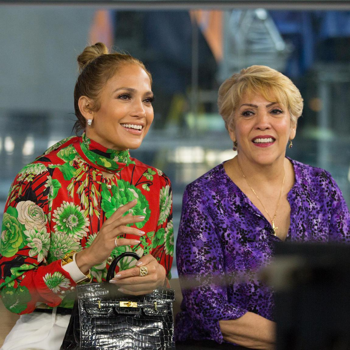 Jennifer Lopez​ and Guadalupe Rodriguez